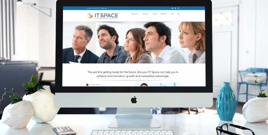 IT Space Stockholm AB - Projekt - Responsiv Webbdesign - Hemsidor i Wordpress