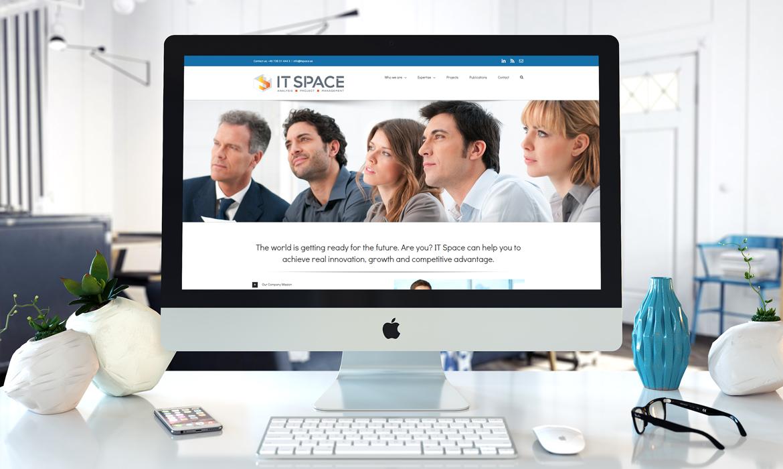 IT Space Stockholm AB - Projekt - Responsiv Webbdesign - Hemsidor i Wordpress