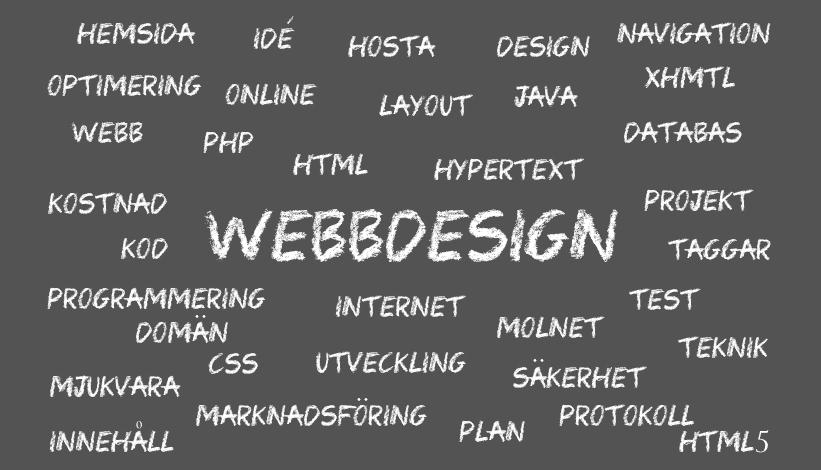 De vanligaste misstagen vid webbdesign och webbutveckling